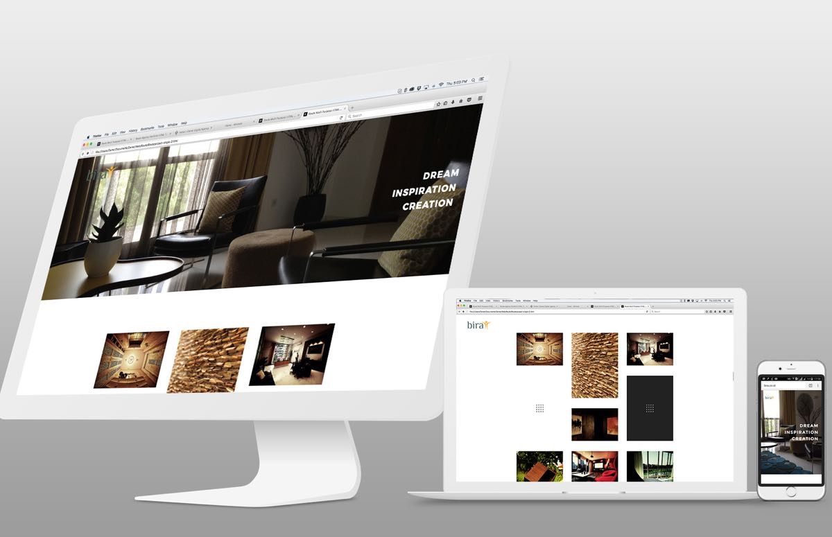 Bira Responsive Website